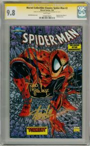 Marvel Collectible Classics Spider-man #2 CGC 9.8 Signature Series Signed Stan Lee  McFarlane comic